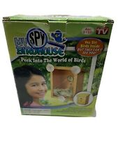 MY SPY BIRDHOUSE AS SEEN ON TV BIRD HOUSE PEEK INTO THE WORLD OF BIRDS PRE-OWNED