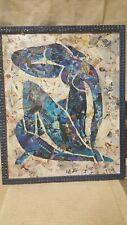 Tableau en collage sur un travail de Matisse par Cyril MAZET fin du XX siècle