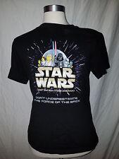 Lego Star Wars 10th Year Anniversary Luke Leia Darth Vader Shirt Kids XL