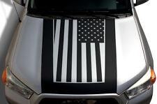 New listing Custom Vinyl Graphics Decal Hood Wrap Kit for Toyota 4Runner 2010-17 Flag Black