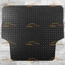MITSUBISHI L200 DBL CAB 15-ON TAILORED 3MM RUBBER HEAVY DUTY REAR LOAD MAT