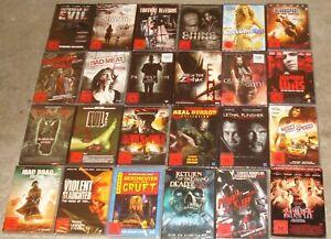 DVD Paket FSK 18 - NEU - Steelbook - Horror - Zombie- (5)