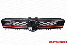 VW GOLF MK7 GTI 2013 - 2017 FRONT GRILLE WITH RED TRIM NEW HIGH QUALITY
