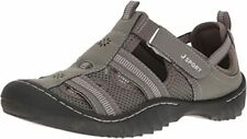 JSport by Jambu Regatta Women Grey/Peony 100% Textile w/ Rubber Sole Flat US 8.5