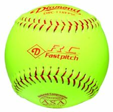Diamond 11-Inch Reduced Compression Fastpitch Softballs, Asa Stamped, (Dozen)