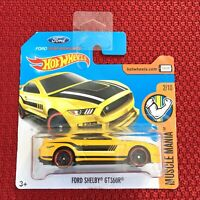 Hot Wheels FORD SHELBY GT350R Car Toy Short Card Mattel Brand NEW