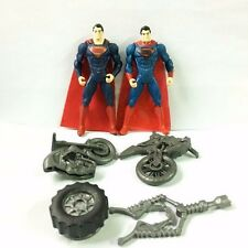 3.75'' DC Comics Superman Man Of Steel Tread AttackMovie Master Figure Baby Toy