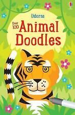 Over 100 Animal Doodles by Fiona Watt (Paperback, 2016)