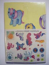 MY LITTLE PONY 1984 Hasbro Hi-C Promo Advertizing POSTER CALENDAR STICKERS A