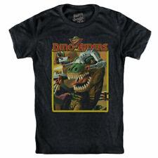 DINO-RAIDERS T-shirt Tyrannosaurus Rex Tyco - 1988 figure  box 80s toy