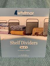 Whitmore Shelf Dividers Gray