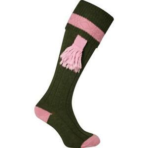 Jack Pyke Ladies Shooting Socks Green Green