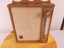 Vintage General Electric AM Radio, Model 455 Works Mid-Century 1950's