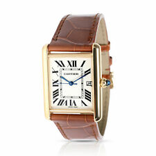 Cartier Tank Louis Cartier W1529756 Men's Watch in 18kt Yellow Gold