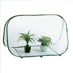 Mini Tent Greenhouse Clear Winter Foldable Flowerpot Cover Outdoor Garden JH