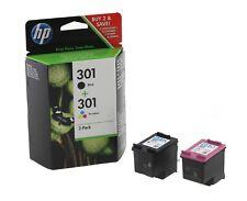 Original HP 301 / 301XL Black & Colour Ink Cartridge For ENVY 5530 Printer