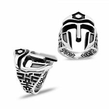 Ottoman Warrior Ring 925 K Sterling Silver Mens Ring All size