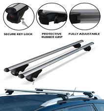 Aluminio Barras de techo para Ford Kuga 2013-2018 con rieles de techo elevado