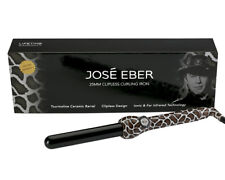 Jose Eber Curling Wand, 25mm, Giraffe, New in Box, Dual Voltage, 35W, 410 F