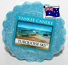 YANKEE CANDLE Tart Melt *  Turquoise Sky * FREE Postage for ADDITIONAL TARTS