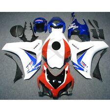 Red Blue INJECTION Fairing Bodywork For Honda CBR1000RR CBR1000 RR 2008-2011 15A