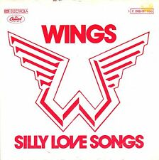 "7"" Wings (Paul McCartney / Beatles) – Silly Love Songs // Germany 1976"