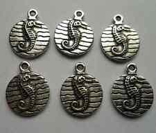 15 pcs Tibetan silver hippocampus charms pendant 19x15  mm