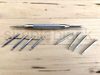 NEU Federstegwerkzeug Metall Uhr Armband inkl. 8x Springfedern 20mm 22mm