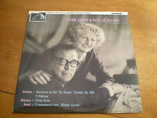 CYRIL SMITH & PHYLLIS SELLICK - PLAYS BRAHMS, DEBUSSY & RAVEL = HMV CLP 1780 EX+