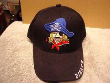 PIRATE BASEBALL CAP HAT ( BLACK )