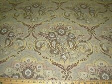 ~5 YDS~VICTORIAN~TAPESTRY EMBROIDERED UPHOLSTERY FABRIC FOR LESS~