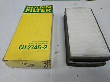 MANN CABIN / POLLEN AIR FILTER CU 2745-2 MERCEDES