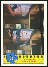 Crashing..#76 Teenage Mutant Ninja Turtles The Movie 1990 Topps TradeCard(C1324)