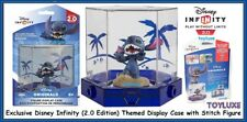 Disney INFINITY 2.0 Originals Exclusive Stitch Game Figure & Display Case NEW !