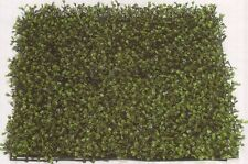 """21"""" ARTIFICIAL LONG LEAF IN OUTDOOR UV BOXWOOD MAT GRASS PATIO HEDGE WALL FENCE"""