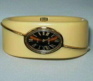 Vintage Bulova Dior Ladies  Bakelite Mechanical Watch, SUPER RARE Swiss N6, 7943