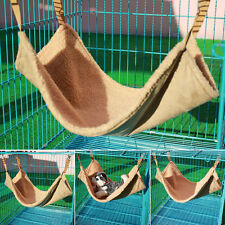Pet Rabbit /Ferret Chinchilla/Cat Cage Hammock Small Dog Camel Bed Cover Bag