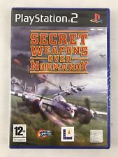 Secret Weapons Over Normandy Sony PlayStation 2 Ps2 12 Fight SIM Game