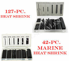 169 Pc Heat Shrink Wire Wrap Marine Tubing Assortment Electrical Wire Cable New