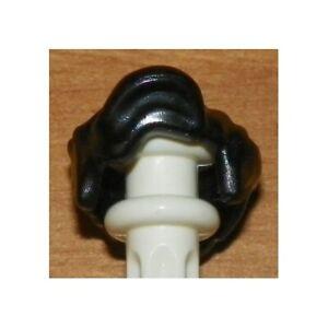 LEGO - BATMAN - Minifig, Headgear Male Hair Wavy - Black - Robin Hair