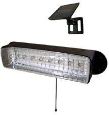 Solar Powered Shed Light Workshop GARAGE CAMPING 8 LEDs E2168