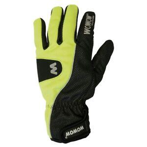 Wowow Full Finger Winter Thermal Hi Viz Waterproof Cycling Gloves