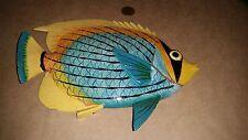 3D Tropical Fish Wall Art Nautical Beach House Display Home Decor-Angelfish-Tang