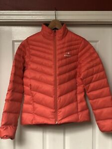 Eider Womens Down Ultralight Pink Quilted Jacket Snow Ski Winter Packable