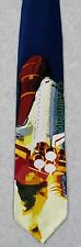 SPACE SHUTTLE DISCOVERY LAUNCH TAKE LIFT-OFF NASA Ralph Marlin Silk Necktie NEW!