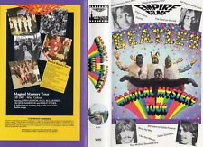 MAGICAL MYSTERY TOUR -The Beatles -VHS-PAL-NEW-Never played!-Original Oz release