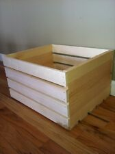 Natural Rustic Wood Crate