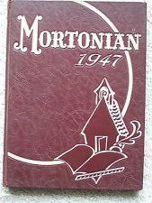 1947 J. S. MORTON HIGH SCHOOL  YEAR BOOK, CICERO, ILLINOIS