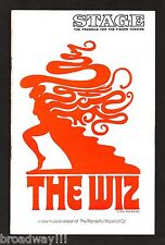 "Stephanie Mills ""THE WIZ"" Butterfly McQueen / Tiger Haynes 1974 Tryout Playbill"