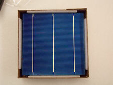 Solar Cells, Poly 17.6%, 4.2 watt .5 volt, 10 pack, Great for solar projects.